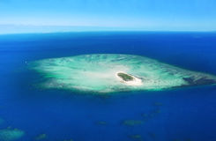 Idylc wyspa Zdjęcia Royalty Free