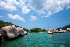 Ko Nangyuan islands in Thailand Stock Image
