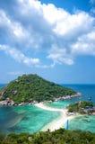 Ko Nangyuan islands in Thailand Stock Images