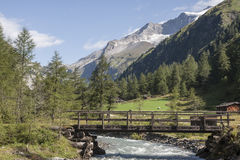 Idyll in Dorfen valley Royalty Free Stock Photography
