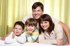 Idyll family Stock Photography