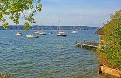 Idyll at starnberg lake, bavaria Stock Photography