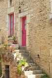 Idylle. A romantic image taken in Noyer-sur-Serein, France Royalty Free Stock Photo