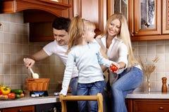 Idylle de famille images libres de droits