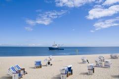 Idylle de plage Photographie stock libre de droits