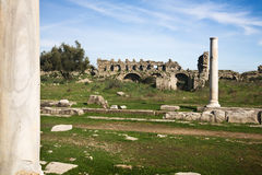 Agora in Side Turkey Royalty Free Stock Photos