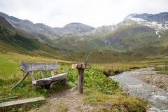 Idyllic alpine landscape at austria. High altitude idyllic alpine landscape at austria Stock Photography