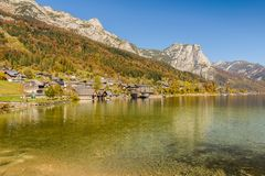 Grundlsee, Austria. royalty free stock photography