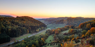 Idyllic Autumn Scenery Stock Image
