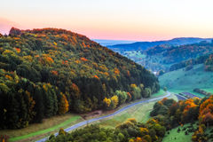 Idyllic Autumn Scenery Stock Photography