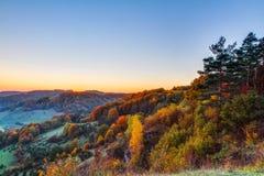 Idyllic Autumn Scenery Stock Photos