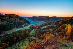 Idyllic Autumn Scenery Stock Images