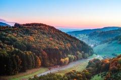 Idyllic Autumn Scenery Stock Photo