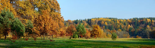 Idyllic autumn scenery Stock Images