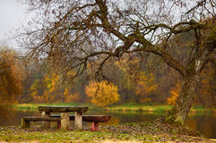 Idyllic autumn scenery Stock Image