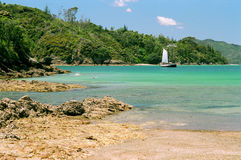 Idyllic Bay of Islands, North Island, New Zealand Royalty Free Stock Photo