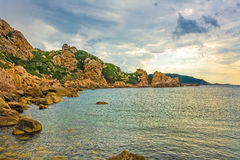 Idyllic bay, Sardinia Royalty Free Stock Images