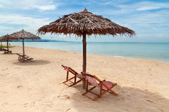 Idyllic beach of Andaman Sea Stock Photos