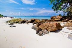 Idyllic beach of Andaman Sea in Tachai island Royalty Free Stock Image