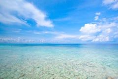 Idyllic beach of Andaman Sea in Tachai island Stock Photo