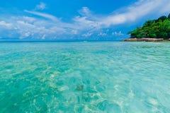 Idyllic beach of Andaman Sea in Tachai island Stock Images