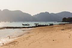 Idyllic beach Royalty Free Stock Image