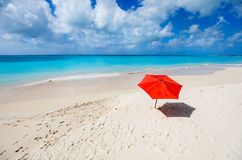 Idyllic beach at Caribbean Stock Photos