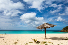 Idyllic beach at Caribbean Royalty Free Stock Image