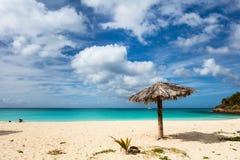 Idyllic beach at Caribbean Royalty Free Stock Image