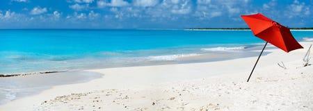 Idyllic beach at Caribbean Stock Image