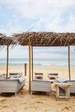 Idyllic beach Stock Images