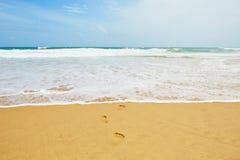 Idyllic beach Royalty Free Stock Photos