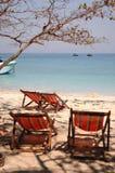 Idyllic beach landscape Royalty Free Stock Photos