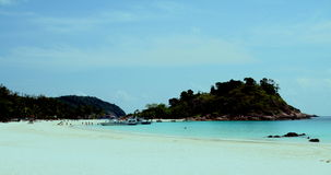 Idyllic beach Malaysia Stock Photo