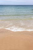 Idyllic Beach and Sea Royalty Free Stock Images
