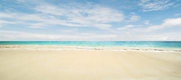 Idyllic beach. Tropical summer resort Stock Photography