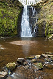 Idyllic and Beautiful Falling Foss on the May Beck River Royalty Free Stock Image
