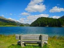 Idyllic bench Royalty Free Stock Photography