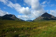 Idyllic Buachaille Etive Mor Royalty Free Stock Images