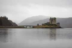 Idyllic castle in Scotland Stock Images