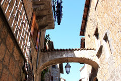 Idyllic center of Orvieto, Umbria, Italy Royalty Free Stock Photo