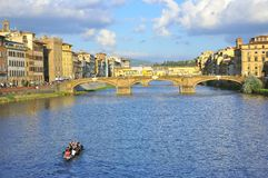 Idyllic city of Florence, Italy Royalty Free Stock Photos