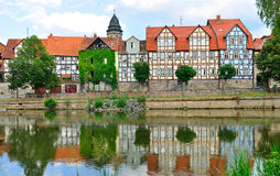 Idyllic city Hann M?nden in Germany Royalty Free Stock Photography