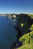 Idyllic cliffs of Moher in summer light Stock Photo