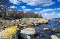 Idyllic coast landscape Stock Image