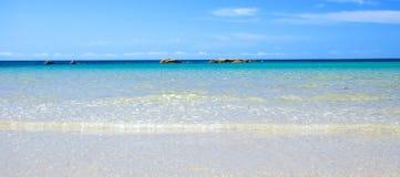 Idyllic Coastal Scene. At Tomahawk, Tasmania, Australia Stock Photos