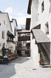 Idyllic corner in Austrian Rattenberg, Tyrol Royalty Free Stock Images