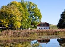 Idyllic cottage. Royalty Free Stock Image