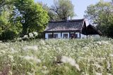 Idyllic country cottage Royalty Free Stock Photography