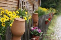 Idyllic country home Stock Image